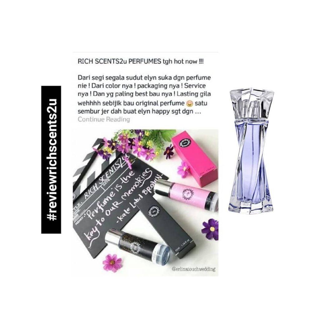 Suker dengan packaging dan service. Perfume lasting giler dan bau sebijik ori. 2
