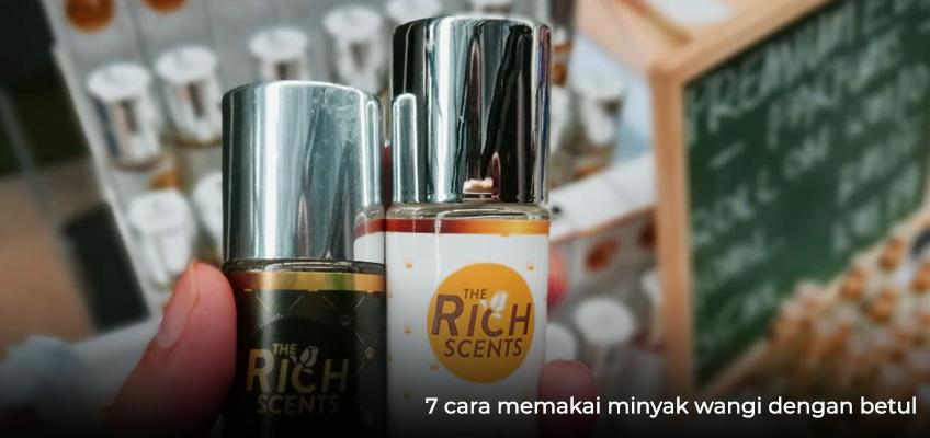 7 cara memakai minyak wangi dengan betul 1