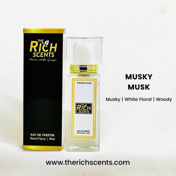 Musky Musk Eau De Parfum 40ml Spray For Women 1