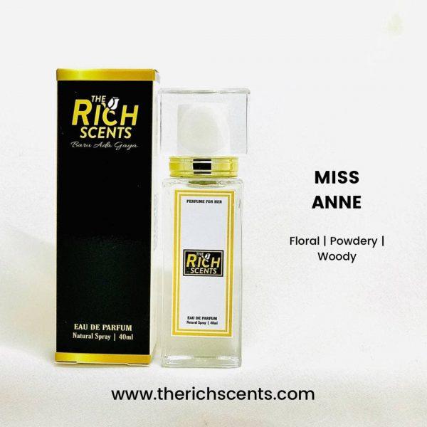 Miss Anne Eau De Parfum 40ml for Women 1