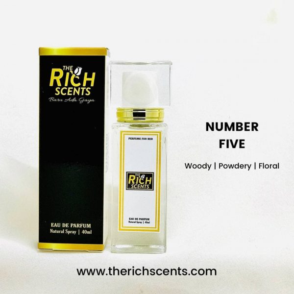 Number Five Eau De Parfum 40ml for Women 1
