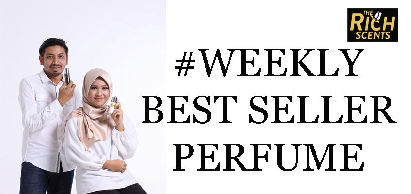 Perfume yang terlaris di The Rich Scents minggu lepas 11