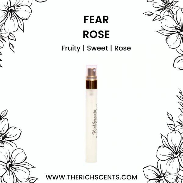 Fear Rose Inspired Perfume 10ml Spray for Women 1