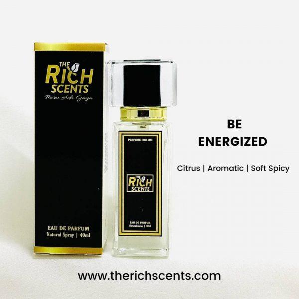 Be Energized Eau De Parfum 40ml Spray for Men 1