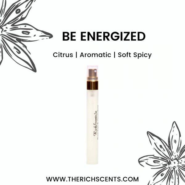 Be Energized Inspired Perfume 10ml Spray for Men 1