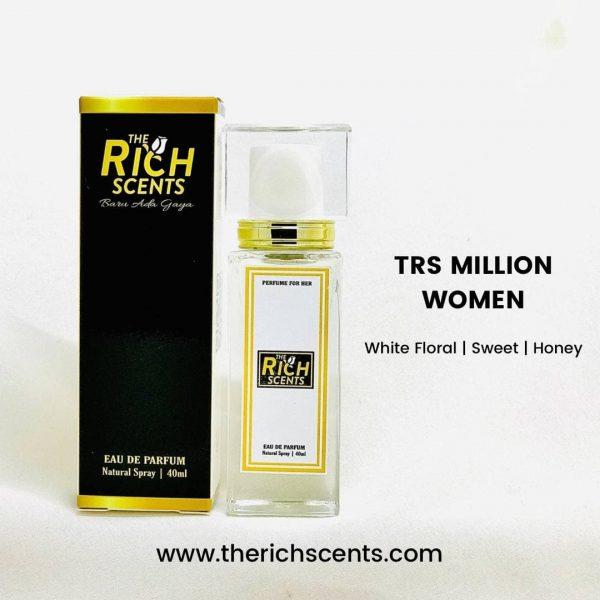 TRS Million Women Eau De Parfum 40ml Spray For Women 1