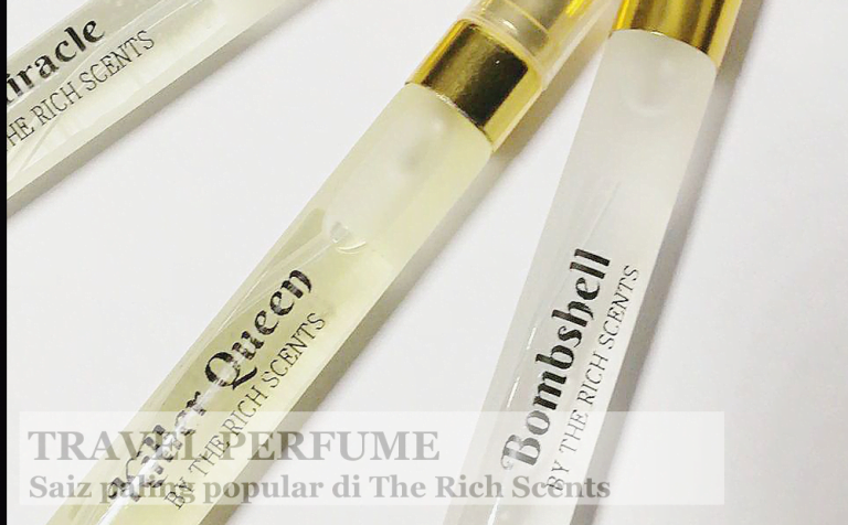 Travel Perfume The Rich Scents