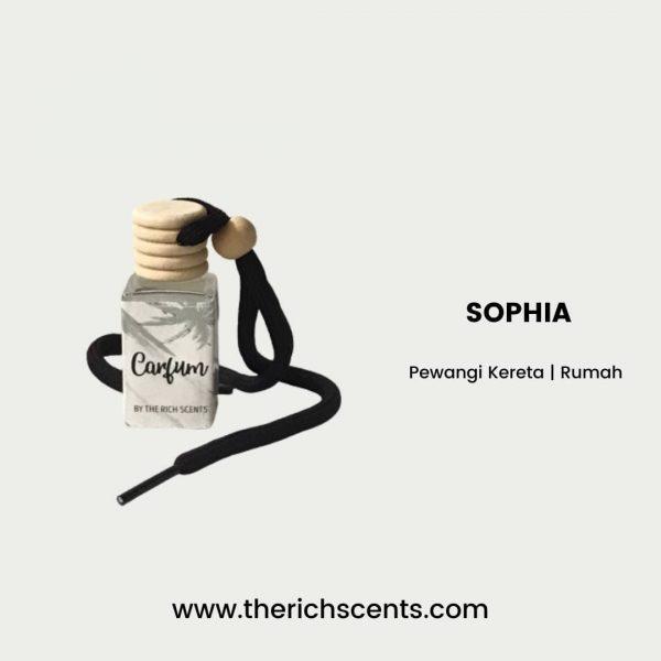 Pewangi Kereta Sophia 1