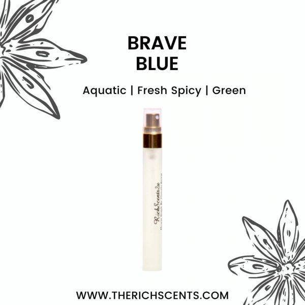 Brave Blue Inspired Perfume 10ml Spray For Men 1