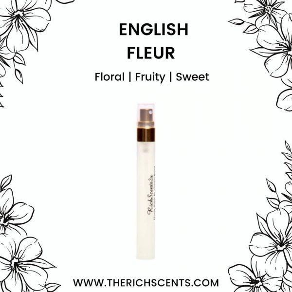 English Fleur Eau De Parfum 10ml Spray For Women 1