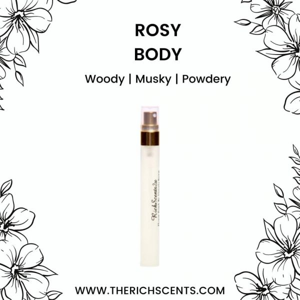 Rosy Body Eau De Parfum 10ml for Women 1