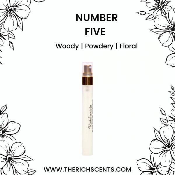 Number Five Eau De Parfum 10ml for Women 1