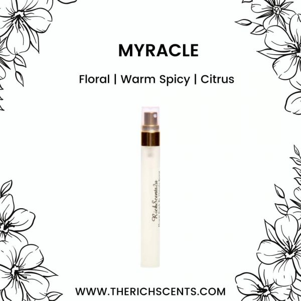 Myracle Inspired Perfume 10ml Spray For Women 1