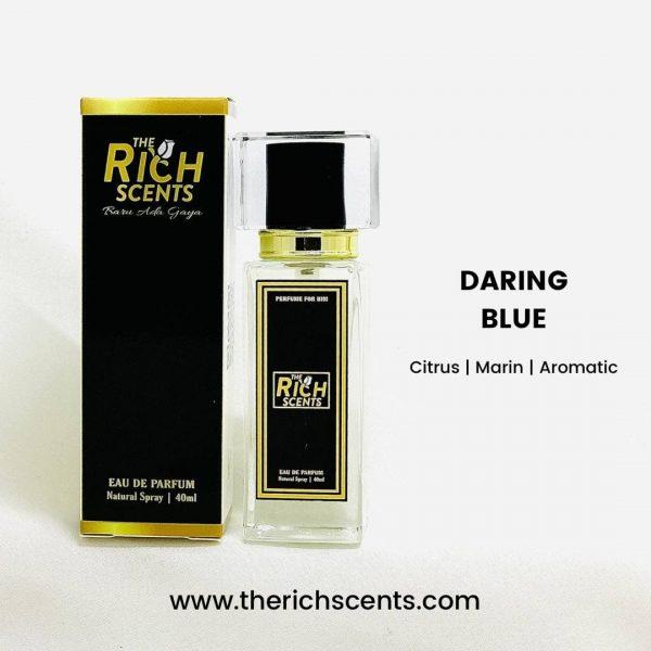 Daring Blue Eau De Parfum 40ml Spray For Men 1