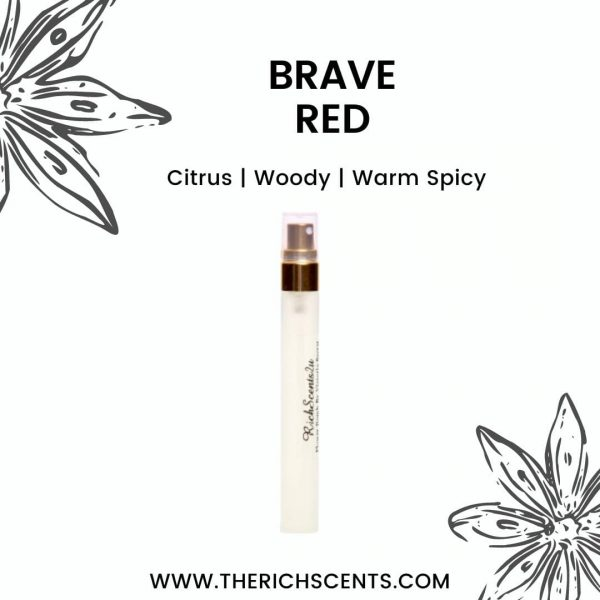 Brave Red Inspired Perfume 10ml Spray For Men 1
