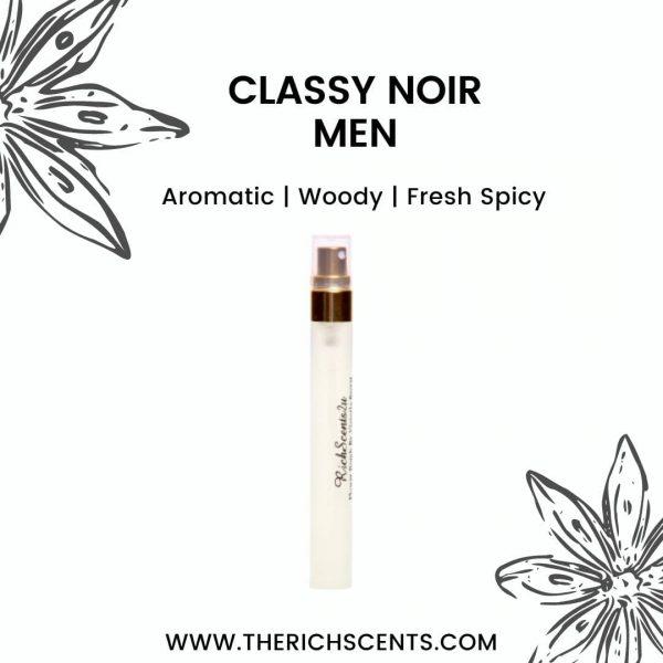 Classy Noir Men Inspired Perfume 10ml Spray for Men 1