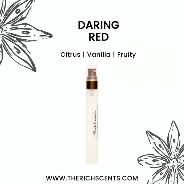 Daring Red Inspired Perfume 10ml Spray For Men 1